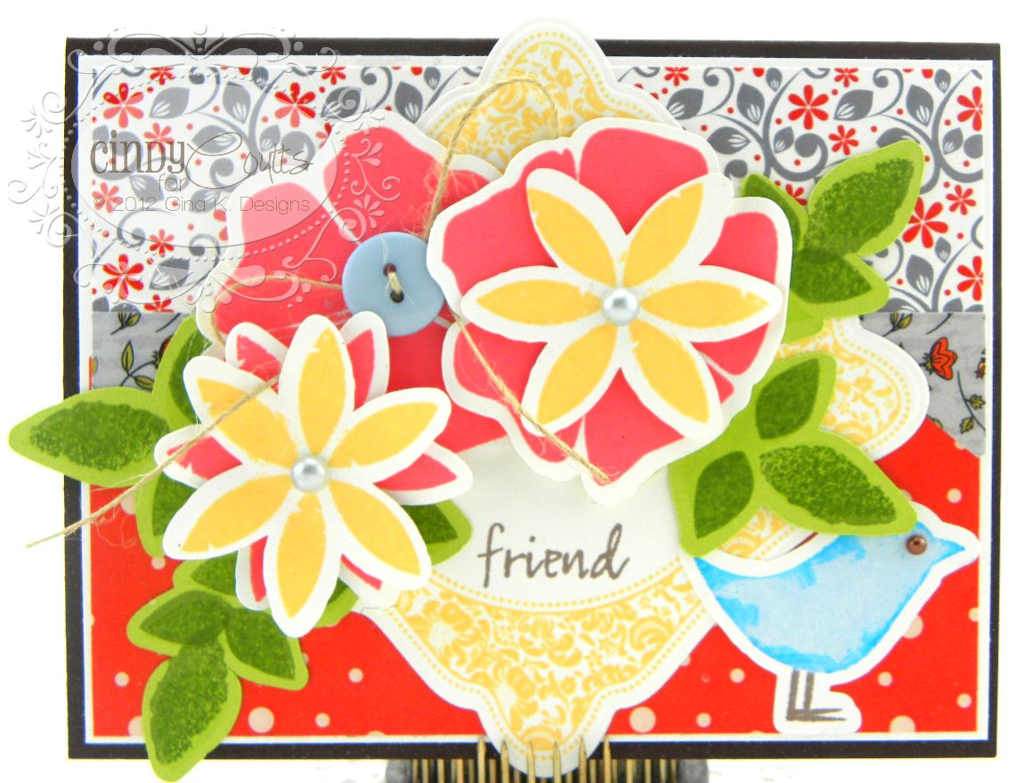 Flowers for a Friend Card