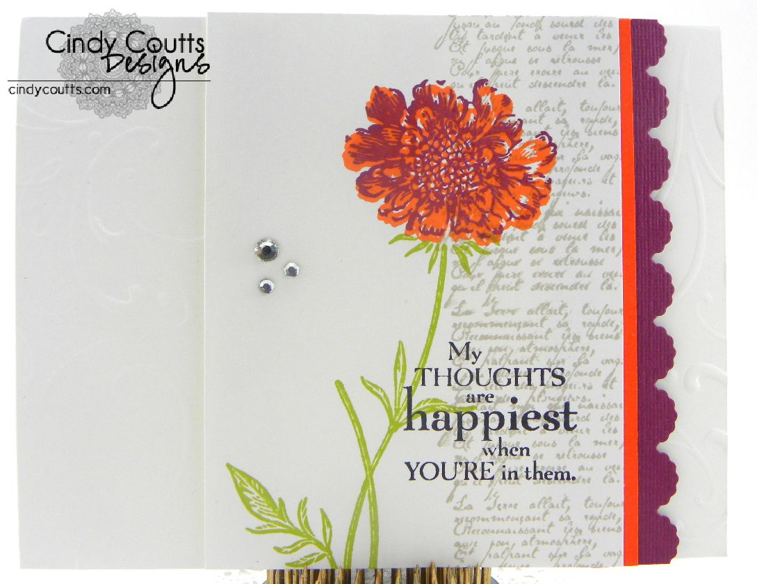 CCMC218 Happy Thoughts Card